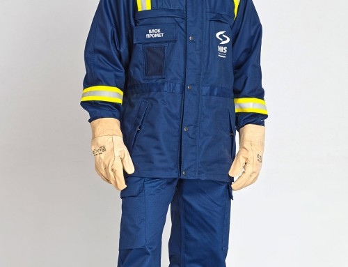PROTECTIVE WORK SUIT FOR MEN – JACKET, TROUSERS, SWEATSHIRT