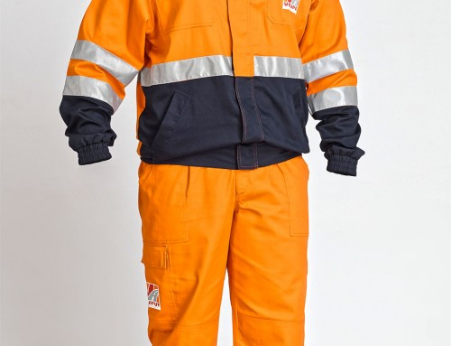 PROTECTIVE WORK SUIT FOR MEN – WORK JACKET AND TROUSERS
